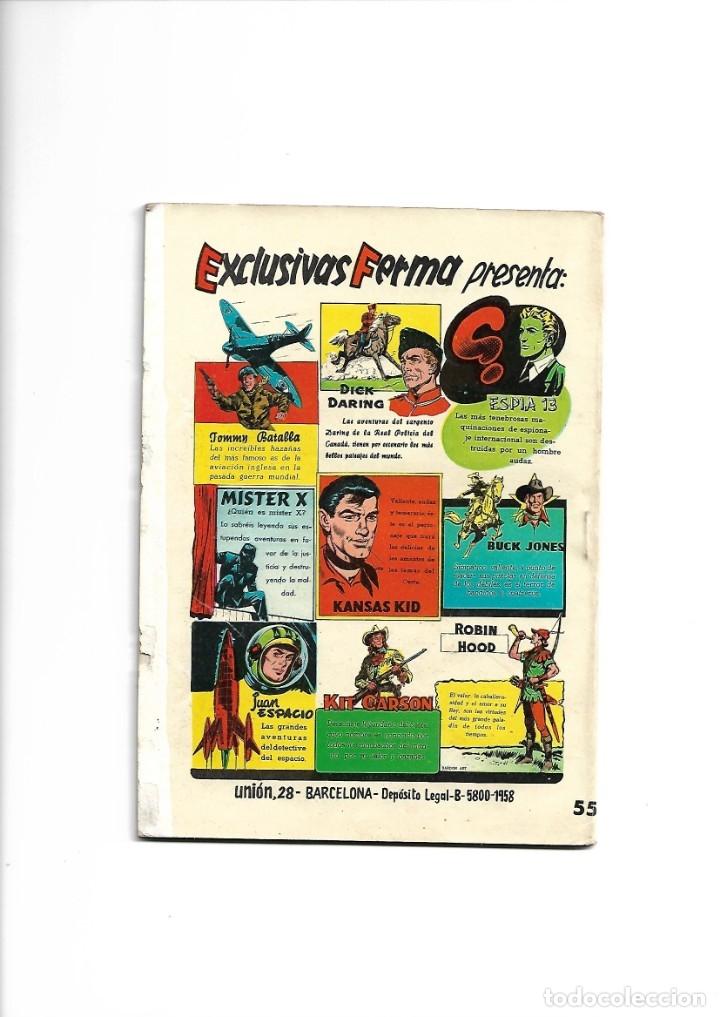 Tebeos: Aventuras Ilustradas Ferma, Año 1.958. Colección Completa son 88. Tebeos Originales Nuevos - Foto 45 - 134816354