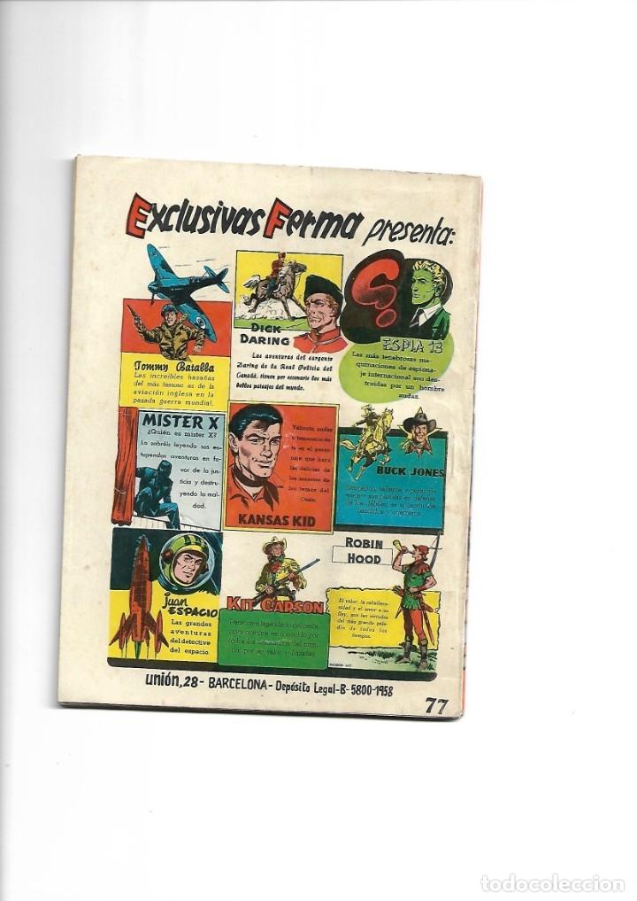 Tebeos: Aventuras Ilustradas Ferma, Año 1.958. Colección Completa son 88. Tebeos Originales Nuevos - Foto 47 - 134816354