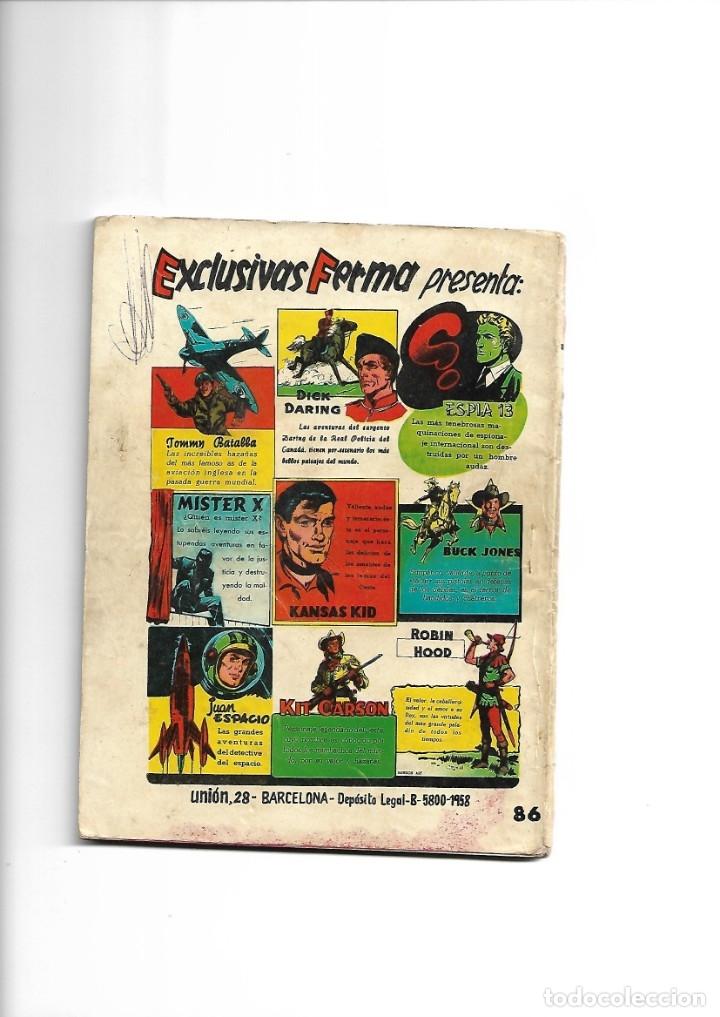 Tebeos: Aventuras Ilustradas Ferma, Año 1.958. Colección Completa son 88. Tebeos Originales Nuevos - Foto 51 - 134816354