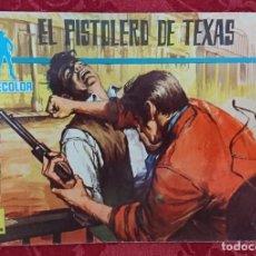 Tebeos: COMIC COLECCIÓN CINECOLOR Nº3 EL PISTOLERO DE TEXAS. Lote 135318554