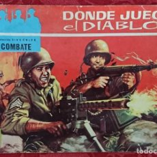 Tebeos: COMIC COLECCIÓN CINECOLOR Nº8 DONDE JUEGA EL DIABLO. Lote 135319002