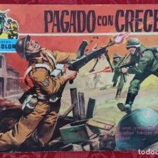 Tebeos: COMIC COLECCIÓN CINECOLOR Nº38 PAGADO CON CRECES. Lote 135319114
