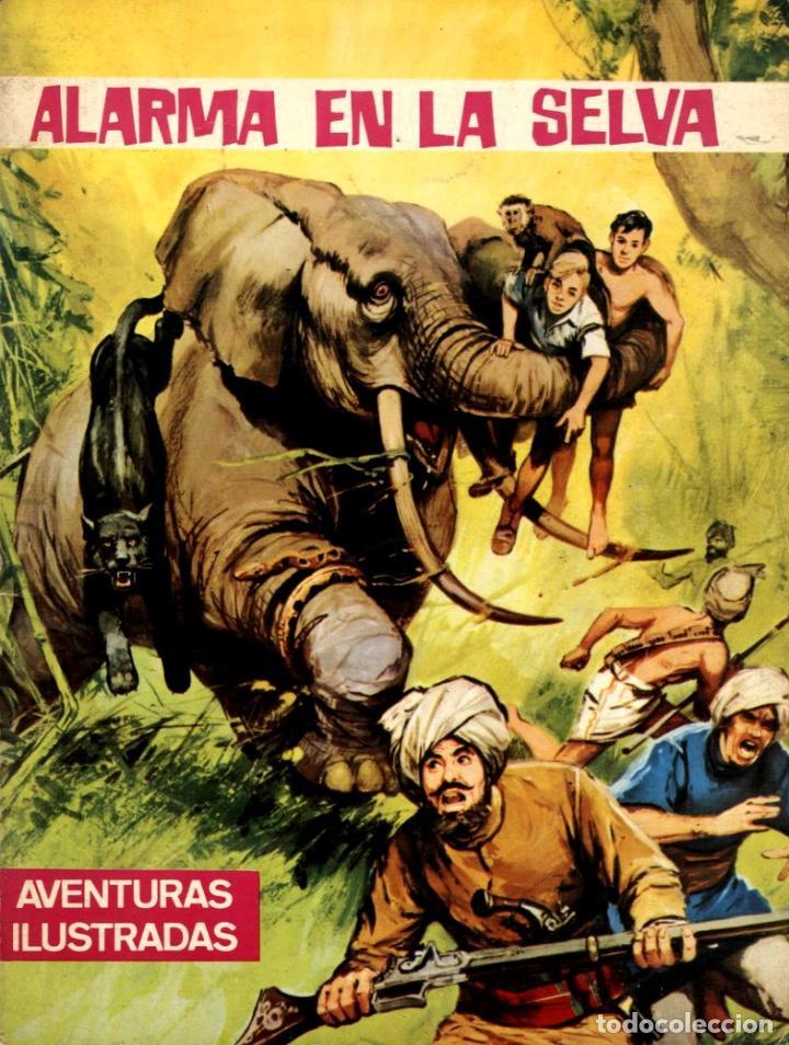 ALARMA EN LA SELVA. AVENTURAS ILUSTRADAS-1 (FERMA, 1966) (Tebeos y Comics - Ferma - Aventuras Ilustradas)