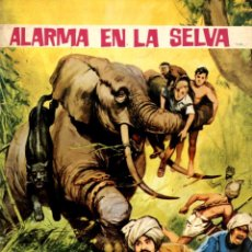 Tebeos: ALARMA EN LA SELVA. AVENTURAS ILUSTRADAS-1 (FERMA, 1966). Lote 135339054