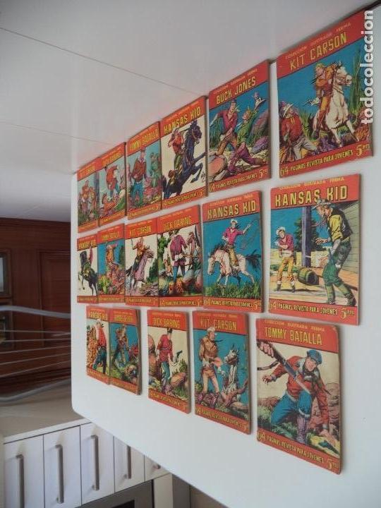 Tebeos: Aventuras Ilustradas Ferma, Año 1.958. Colección Completa son 88. Tebeos Originales Nuevos - Foto 11 - 134816354