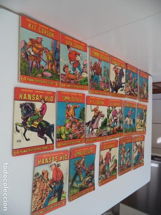 Tebeos: Aventuras Ilustradas Ferma, Año 1.958. Colección Completa son 88. Tebeos Originales Nuevos - Foto 12 - 134816354