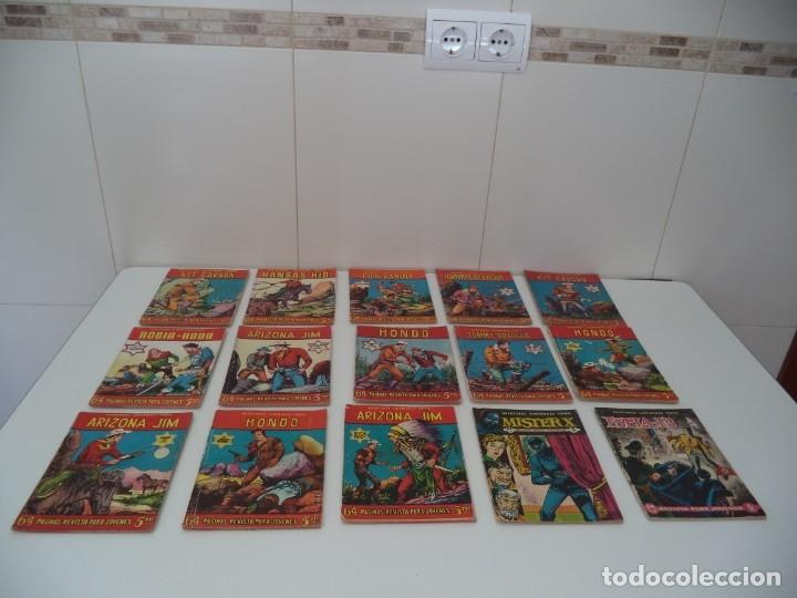 Tebeos: Aventuras Ilustradas Ferma, Año 1.958. Colección Completa son 88. Tebeos Originales Nuevos - Foto 13 - 134816354