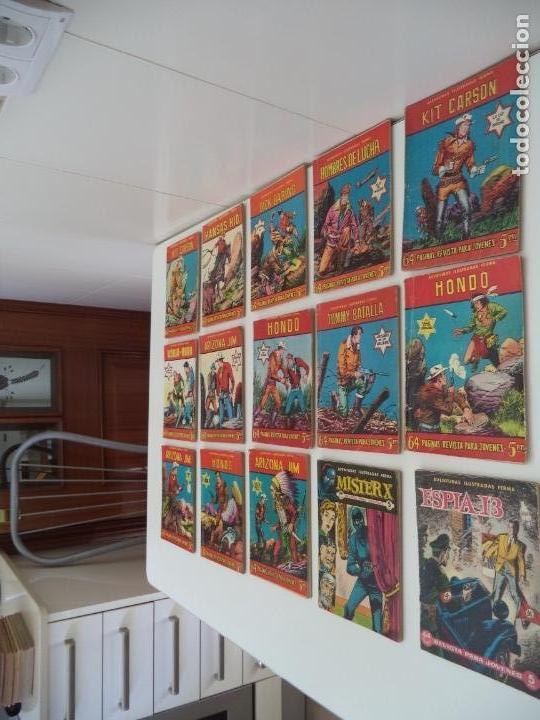 Tebeos: Aventuras Ilustradas Ferma, Año 1.958. Colección Completa son 88. Tebeos Originales Nuevos - Foto 14 - 134816354