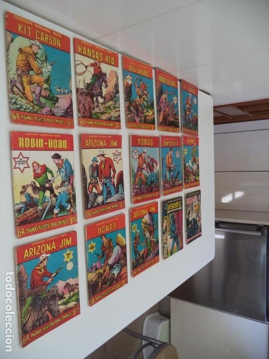 Tebeos: Aventuras Ilustradas Ferma, Año 1.958. Colección Completa son 88. Tebeos Originales Nuevos - Foto 15 - 134816354