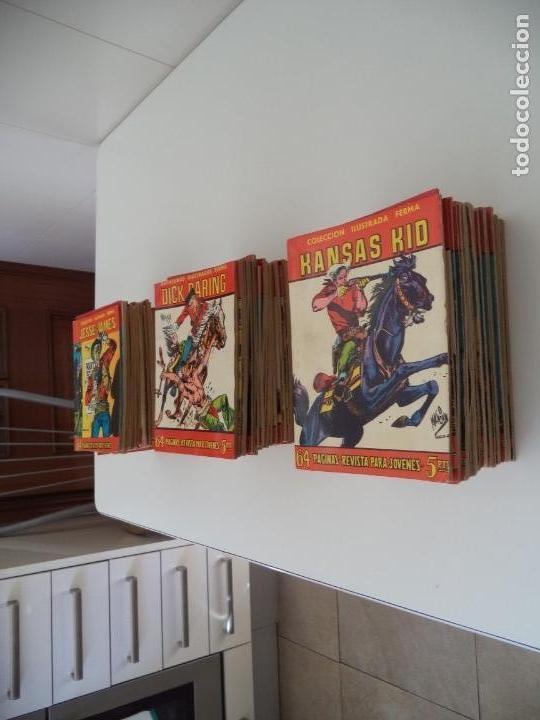 Tebeos: Aventuras Ilustradas Ferma, Año 1.958. Colección Completa son 88. Tebeos Originales Nuevos - Foto 3 - 134816354