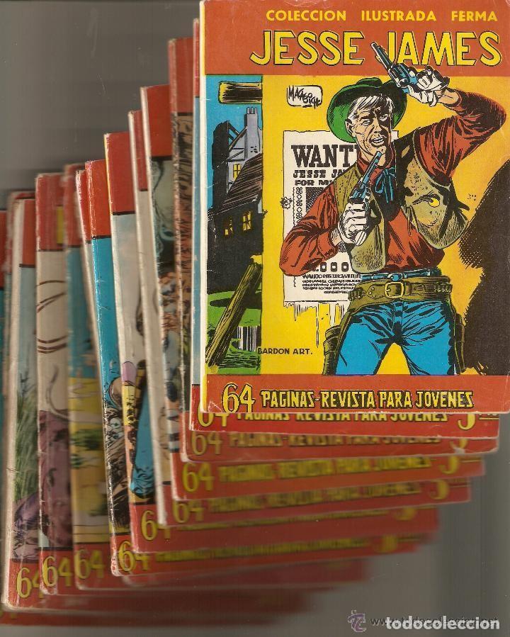 Tebeos: Aventuras Ilustradas Ferma, Año 1.958. Colección Completa son 88. Tebeos Originales Nuevos - Foto 56 - 134816354