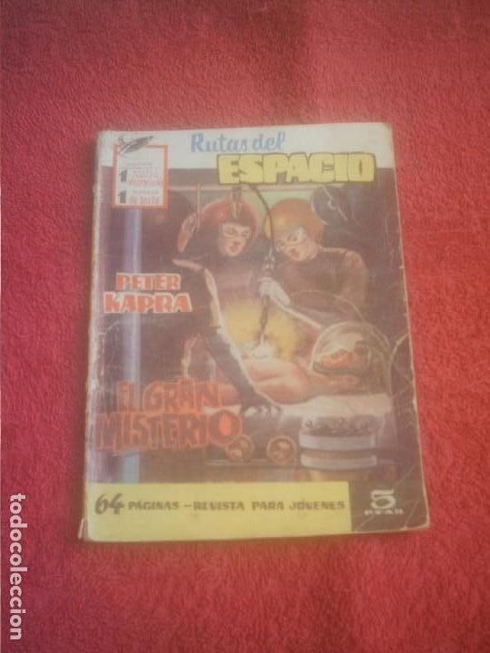 RUTAS DEL ESPACIO FERMA Nº 7 ,EL GRAN MISTERIO . 64 PAGINAS 1962. (Tebeos y Comics - Ferma - Combate)