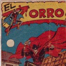 Tebeos: EL ZORRO Nº 17 ORIGINAL DE LA EPOCA, ( 1956 ). Lote 136512550