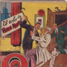 Tebeos: EL PODER INVISIBLE Nº 18 EL ROBO DE LA PERLA NEGRA *** ¡ORIGINAL DE LA EPOCA 1957 !. Lote 136523314