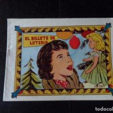 Tebeos: PRINCESITA CAROLINA Nº 109 EL BILLETE DE LOTERIA EDITORIAL FERMA 1959. Lote 136550234