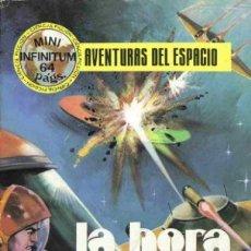 Tebeos: MINI INFINITUM-AVENTURAS DEL ESPACIO- Nº 9 - LA HORA FATAL-1980-RARO-MUY BUENO-APASIONANTE-9519. Lote 136780942