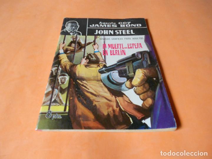 AGENTE 007 JAMES BOND, Nº 15: LA MUERTE ESPERA EN BERLÍN. BUEN ESTADO (Tebeos y Comics - Ferma - Agente Secreto)
