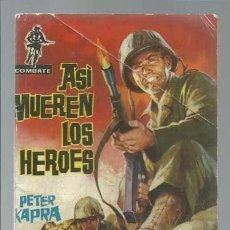 Tebeos: COMBATE Nº 1: ASÍ MUEREN LOS HEROES, 1962, FERMA, BUEN ESTADO. Lote 137115522