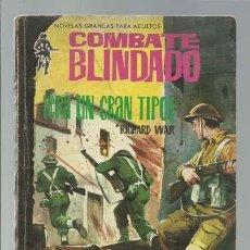 Tebeos: COMBATE BLINDADO 138: ERA UN GRAN TIPO, 1962, FERMA, BUEN ESTADO. Lote 137115918