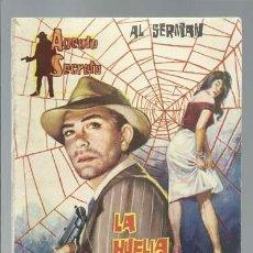 Tebeos: AGENTE SECRETO 10: LA HUELLA DELATORA, 1962, FERMA, MUY BUEN ESTADO. Lote 137116766