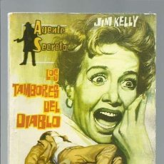 Tebeos: AGENTE SECRETO 12: LOS TAMBORES DEL DIABLO, 1962, FERMA, MUY BUEN ESTADO. Lote 137117170