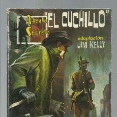 Tebeos: AGENTE SECRETO 22: EL CUCHILLO, 1962, FERMA, BUEN ESTADO. Lote 137117634