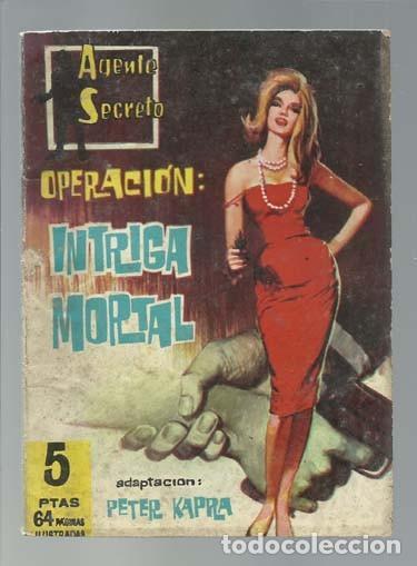 AGENTE SECRETO 23: INTRIGA MORTAL, 1962, FERMA, BUEN ESTADO (Tebeos y Comics - Ferma - Agente Secreto)
