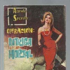 Tebeos: AGENTE SECRETO 23: INTRIGA MORTAL, 1962, FERMA, BUEN ESTADO. Lote 137117762