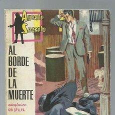 Tebeos: AGENTE SECRETO 31: AL BORDE DE LA MUERTE, 1962, FERMA, BUEN ESTADO. Lote 137117886