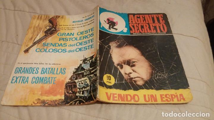 AGENTE SECRETO Nº 29: VENDO UN ESPIA - FERMA 1966 (Tebeos y Comics - Ferma - Agente Secreto)
