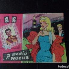 Tebeos: B. B. Nº 42 A MEDIA NOCHE EDITORIAL FERMA 1959 . Lote 137942518