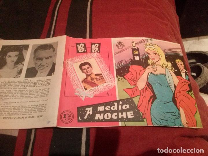 COLECCIÓN CAROLINA B. B. BRIGITTE BARDOT - A MEDIA NOCHE Nº42 - 1959 (Tebeos y Comics - Ferma - Otros)