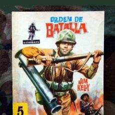 Tebeos: COMBATE Nº 29 - ORDEN DE BATALLA, 1969 - EDITORIAL FERMA - ORIGINAL.. Lote 139579610