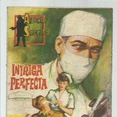 Tebeos: AGENTE SECRETO 19: INTRIGA PERFECTA, 1962, FERMA, BUEN ESTADO. Lote 139747346