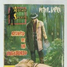 Tebeos: AGENTE SECRETO 17: ASESINATO DE UN VAGABUNDO, 1962, FERMA, BUEN ESTADO. Lote 139747614