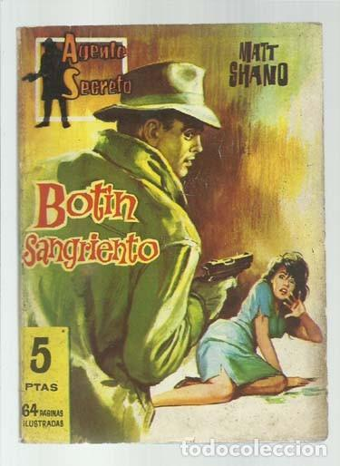 AGENTE SECRETO 16: BOTÍN SANGRIENTO, 1962, FERMA, BUEN ESTADO (Tebeos y Comics - Ferma - Agente Secreto)