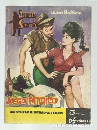 AGENTE SECRETO 9: JUEGO FATIDICO, 1962, FERMA, BUEN ESTADO (Tebeos y Comics - Ferma - Agente Secreto)