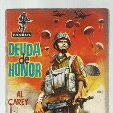 Tebeos: COMBATE 5: DEUDA DE HONOR, 1962, FERMA. Lote 139748562