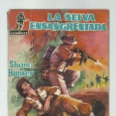 Tebeos: COMBATE 7: LA SELVA ENSANGRENTADA, 1962, FERMA. Lote 139748814