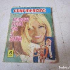 Tebeos: CONFIDENCIAS Nº 381 - TRATAMIENTO ESPECIAL PARA EL CARIÑO - FERMA 1962. Lote 140200310