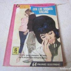 Tebeos: DAMITA Nº 340 - CON LAS MANOS VACIAS - FERMA 1958. Lote 140344374