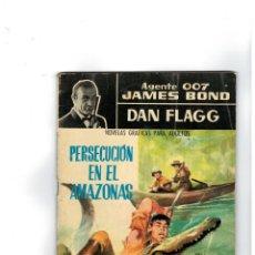 Tebeos: AGENTE 007 JAMES BOND -DAN FLAGG- Nº 9. FERMA,1966.. Lote 141394110