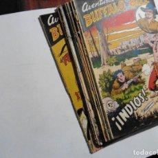 Tebeos: AVENTURAS DE BUFFALO BILL 18 CUADERNILLOS FERMA 1950 ORIGINAL. Lote 141526614