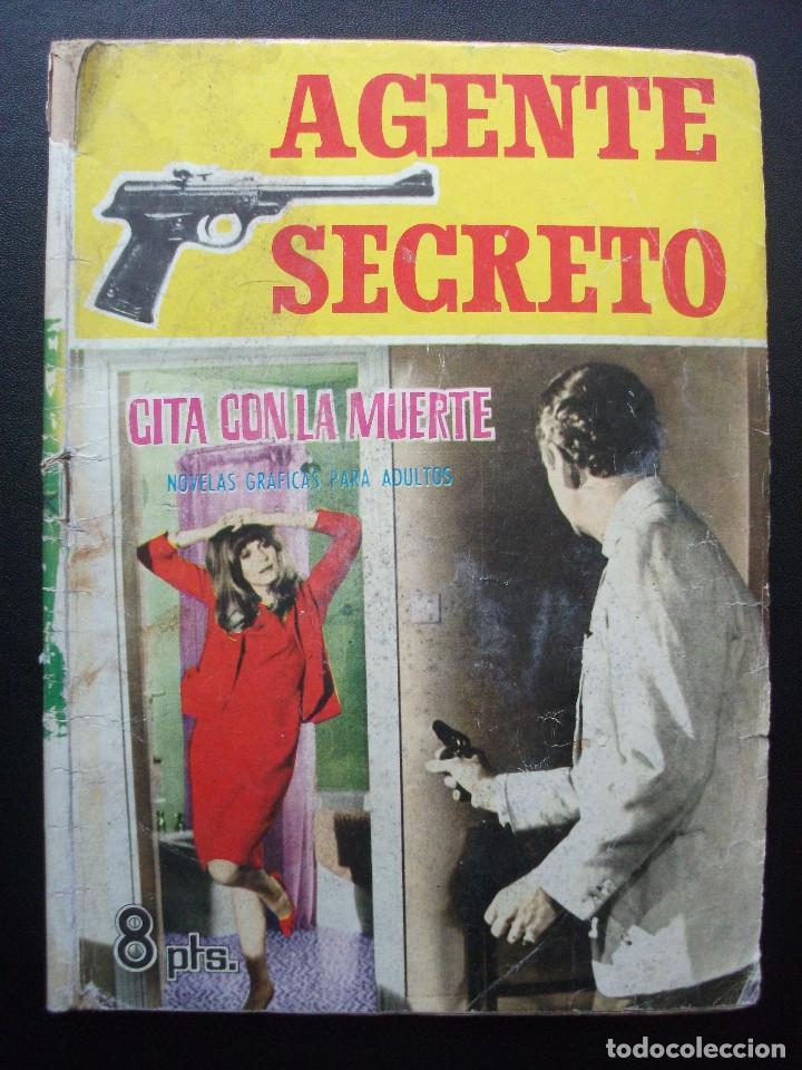 AGENTE SECRETO, Nº 1 (Tebeos y Comics - Ferma - Agente Secreto)