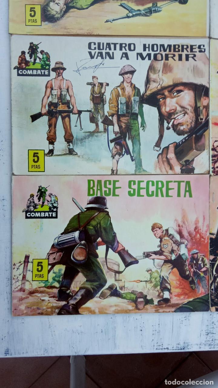 Tebeos: COMBATE ORIGINAL COMPLETA 1 AL 12 - EDITORIAL FERMA 1963 MUY BUEN ESTADO, DIFÍCIL - Foto 3 - 142379502