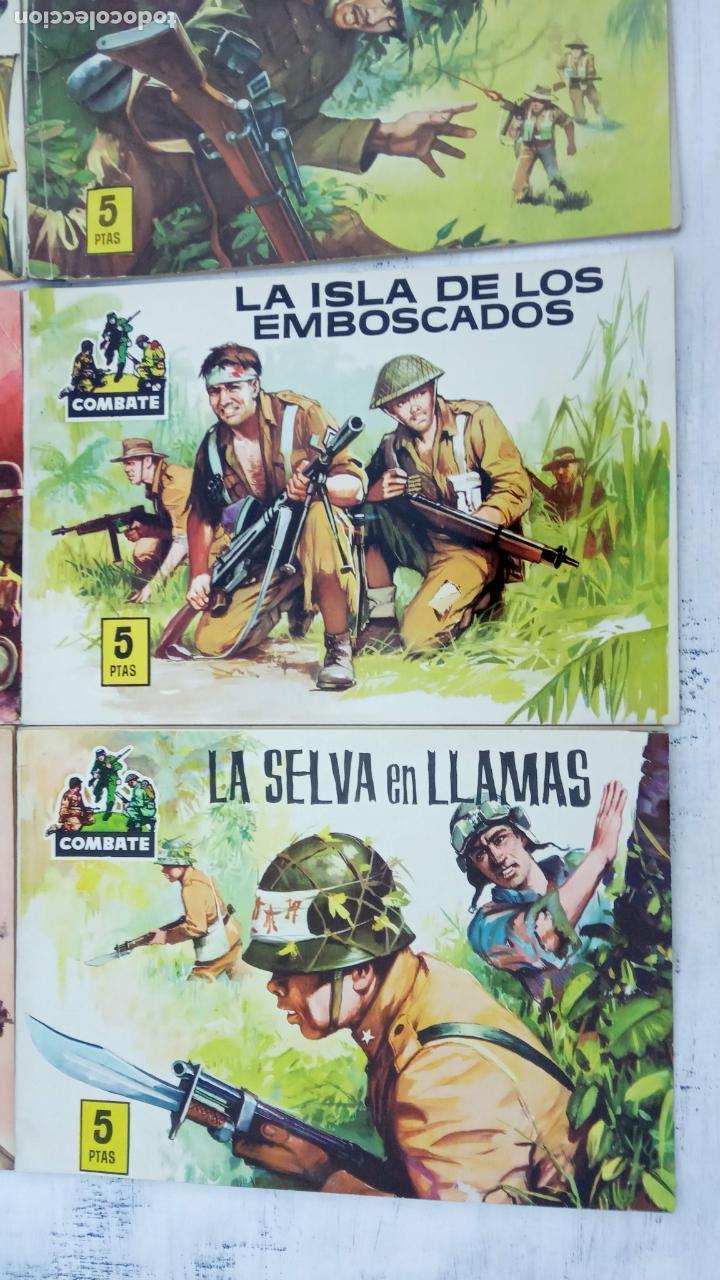 Tebeos: COMBATE ORIGINAL COMPLETA 1 AL 12 - EDITORIAL FERMA 1963 MUY BUEN ESTADO, DIFÍCIL - Foto 5 - 142379502
