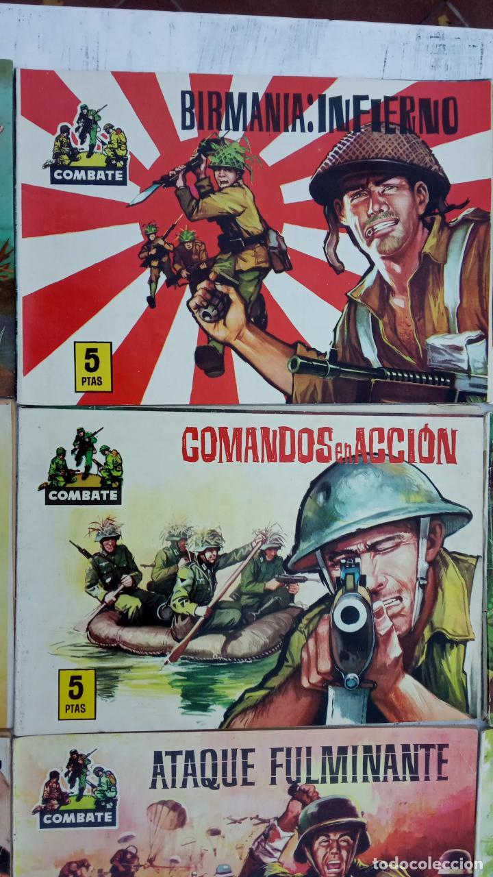Tebeos: COMBATE ORIGINAL COMPLETA 1 AL 12 - EDITORIAL FERMA 1963 MUY BUEN ESTADO, DIFÍCIL - Foto 7 - 142379502