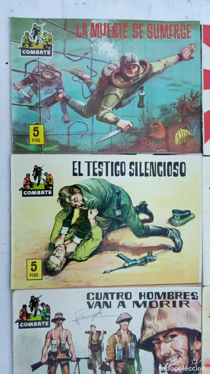 Tebeos: COMBATE ORIGINAL COMPLETA 1 AL 12 - EDITORIAL FERMA 1963 MUY BUEN ESTADO, DIFÍCIL - Foto 8 - 142379502