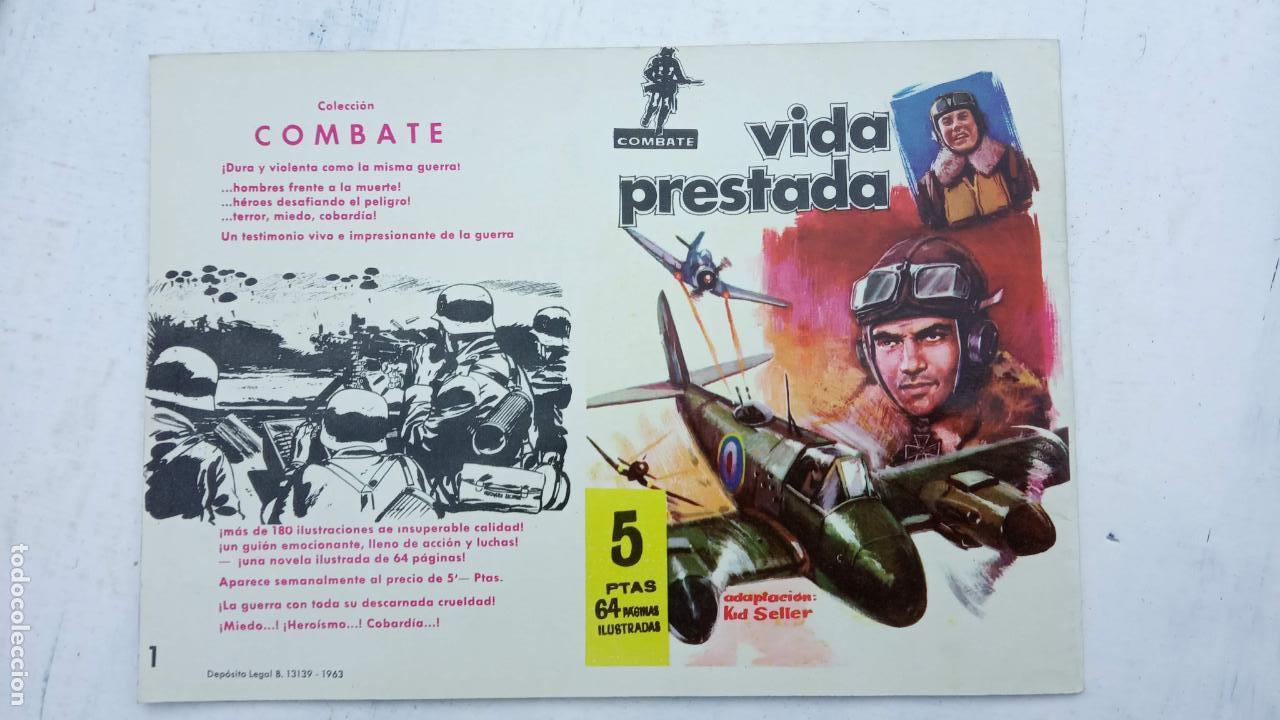 Tebeos: COMBATE ORIGINAL COMPLETA 1 AL 12 - EDITORIAL FERMA 1963 MUY BUEN ESTADO, DIFÍCIL - Foto 10 - 142379502