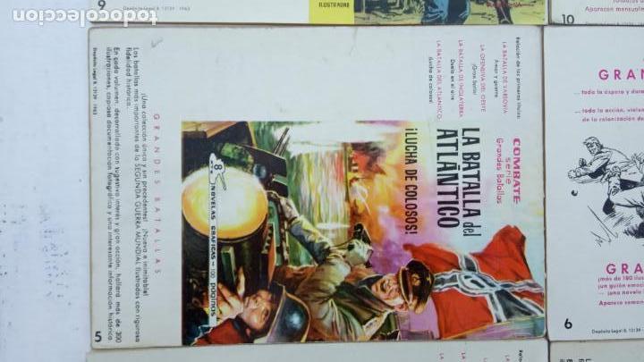 Tebeos: COMBATE ORIGINAL COMPLETA 1 AL 12 - EDITORIAL FERMA 1963 MUY BUEN ESTADO, DIFÍCIL - Foto 11 - 142379502
